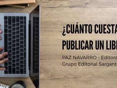 💡 Post: ¿CUÁNTO CUESTA PUBLICAR UN LIBRO?